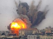Israeli Bombers Hit Christian Areas