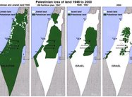 The Map:  A Palestinian Nation Thwarted & Speaking Truth to Power