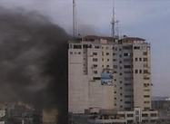 Live report from Gaza, attacks on Journalists (Democracy Now!)