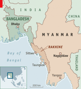 Image result for rakhine burma map