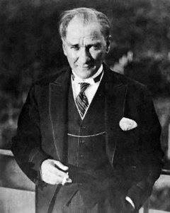 Mustafa Kemal Atatürk. photo courtesy the Republic of Turkey Ministry of National Education (Wikimedia Commons)