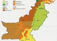 Map: Pakistan Ethnic Groups