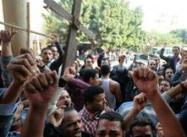 Christian Crowds Protest Violently in Egypt