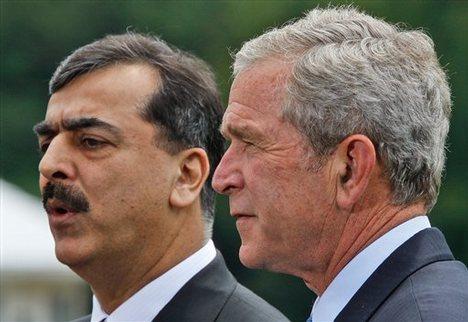 Bush & Gilani