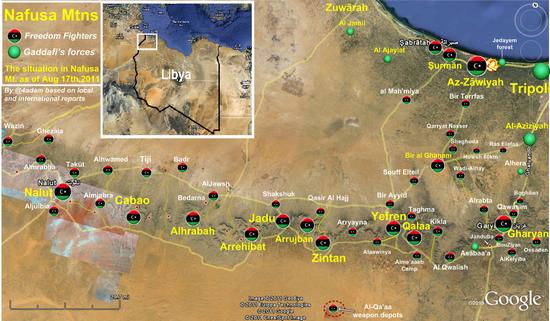Qaddafi Explores Routes to Flee Libya as Rebels Advance