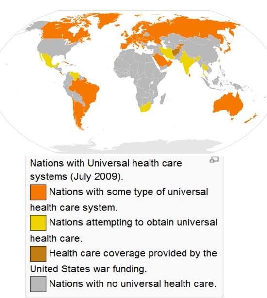 a description of health care in third world countries We compare the systems in some of the world's leading countries for healthcare sweden is ranked third by the including hospital care, mental health care.