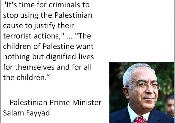 Fayyad: Stop Exploiting Palestinian Children for Terror