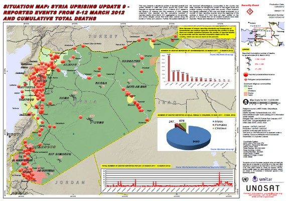 Syria Revolt Enters Second Year as World Stands Feckless