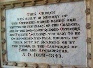 British and Indian War Dead in Afghanistan, 1838-1843, Honored by Mumbai Church (Photos)
