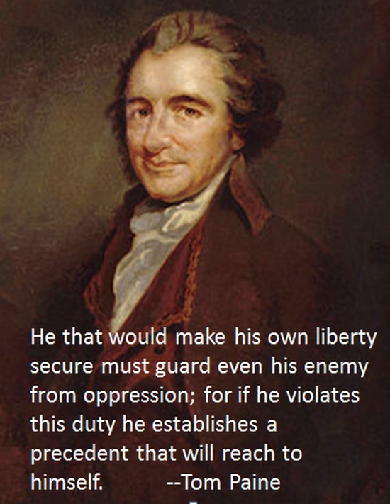 Tom Paine on Liberty