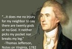 Thomas Jefferson on Polytheism and Atheism (Poster)