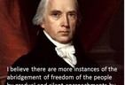 How the people's rights are abridged (James Madison Poster)