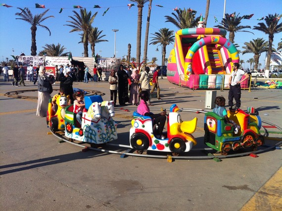 Children's Rides in Tripoli, Libya, June 2012