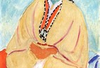 Zorah in a Yellow Robe (Matisse Painting)