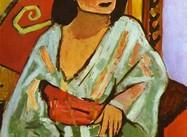 "Matisse:  ""Algerian Woman"" (Painting)"