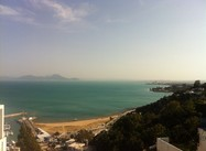 Tunis:  View of Coast from Sidi Bu Said (Photograph)