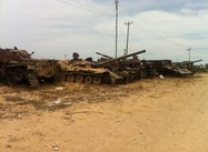The Tanks that did not Defeat Misrata (Photo)