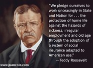 Dear Rick Perry:  Would Teddy Roosevelt have extended Medicaid to all? (Poster)