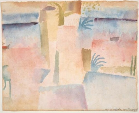 Paul Klee, A view toward Hamamet