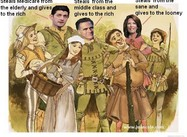 Romney Hood and his Merry Band (Cartoon)