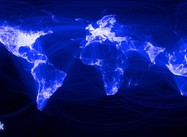 Global Facebook Network Connections on the Eve of the Arab Spring (Image)