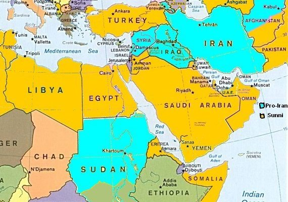 The Rise of the Sunnis and the Decline of Iran, Iraq and Hizbullah:  The Middle East in 2013