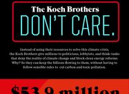 The New Neros:  The Koch Bros Profit from Burning the World Up (Halperin Infographic)