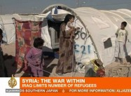 10,000 Syrian Refugees Trapped on Iraq & Turkish Borders