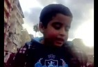 5 Year Old Child Heads Demo in Alexandria Egypt