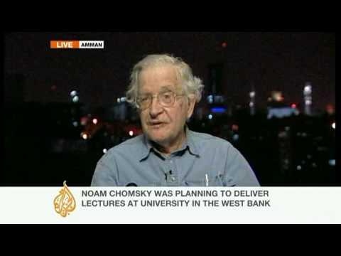Apartheid Israel, Bunker Israel:  Elvis Costello and Noam Chomsky