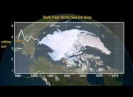 Arctic Summer Ice Cap will be gone in 20 Years: NOAA (Time-Lapse Video)