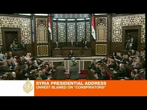 Asad's Speech Falls Flat in Syria