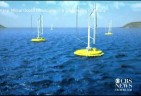 """Capturing football fields"" of power – Offshore Wind-Wave Energy Farms in Japan and California"