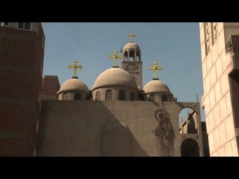Egypt's Coptic Christians Protest Killing by Fundamentalists of 4 at Church