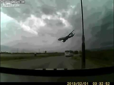 Cargo Plane Crash at Bagram (Video)