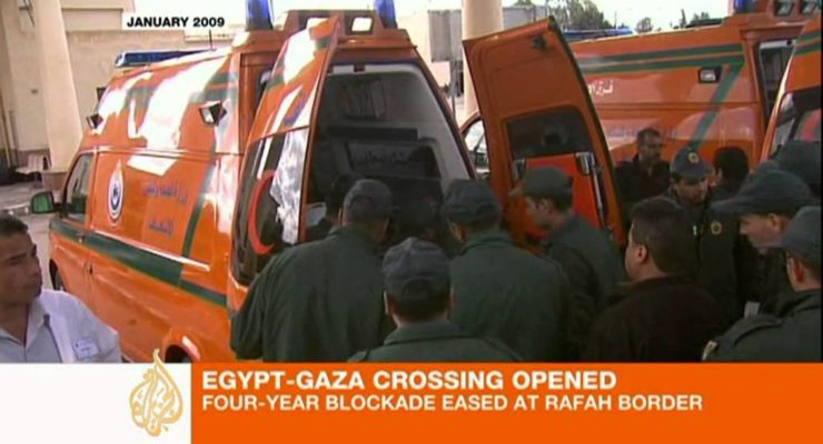 Egypt Lets Palestinians of Gaza Circulate