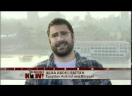 Egyptian Blogger-Activist Alaa on Democracy Now!