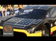 Solar Car of the Future:  Sunswift Solar Two-Seater looks like an ordinary Coupe