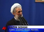 Iranian Cleric Blames US in Mosque Bombing