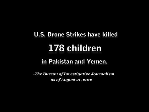 Let's also Remember the 176 children Killed by US Drones