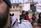 Muslims of Liberated Saraqeb, Syria, put up Christmas Tree for Local Christians