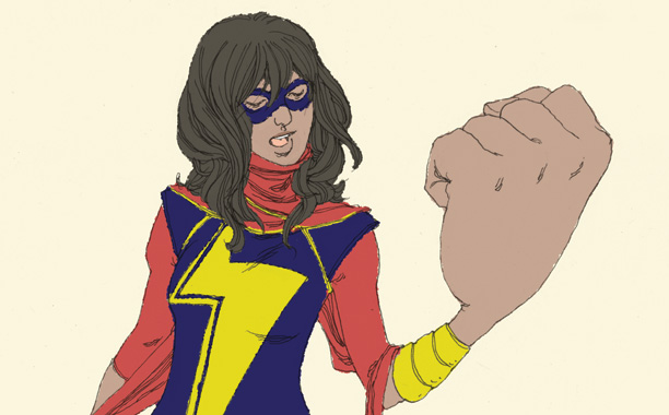 Ms. Marvel and the Rise of the Muslim Superhero in America