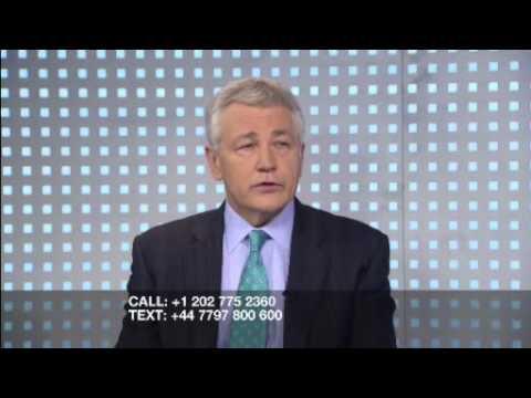 Chuck Hagel Mauled in Bizarro World of US Senate