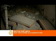 NATO Strike on Command Center kills Qaddafi Son