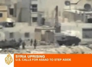 Obama demands Regime Change in Syria