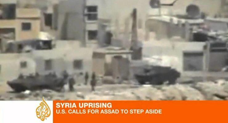 Obama demands Regime Change in Syria