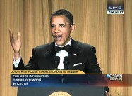 Obama Humor at White House Correspondents' Dinner