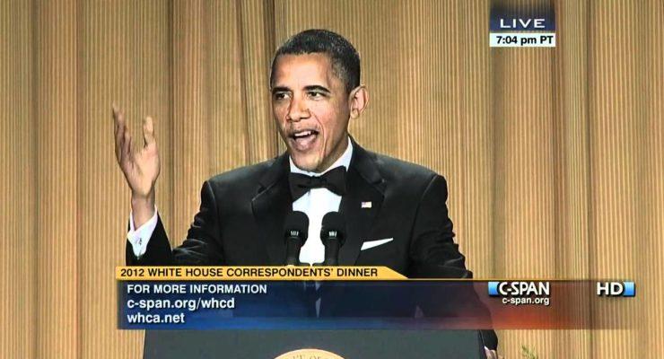 Obama Humor at White House Correspondents' Dinner