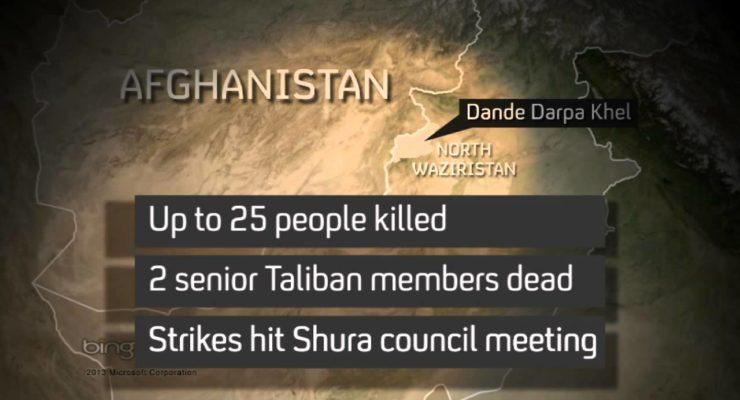 CIA Drone Kills Pakistan Taliban Leader on Eve of Peace talks with Islamabad