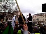 Paul Conroy Speaks at Syria Rally in London (Covered Baba Amr)